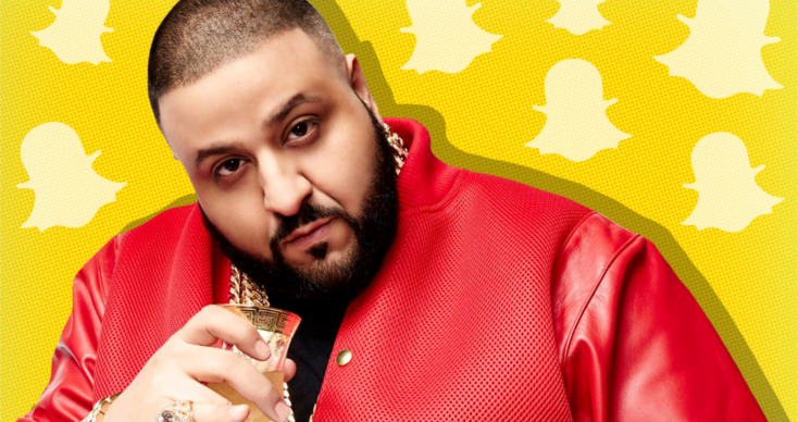 Social Media Strategy DJ Khaled Snapchat